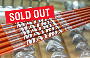 Driver Shaft MATRIX RADIX HD Brown (Sold out - ขายไปแล้ว)