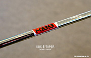 Iron Shaft KBS $-TAPER (MONEY-TAPER)