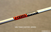 Iron Shaft KBS TOUR CUSTOM SERIES